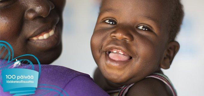 Lääketeollisuudessa työskennellään lapsikuolleisuuden vähentämiseksi