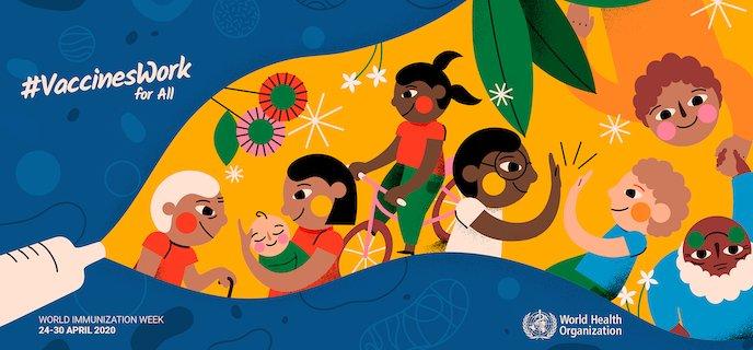 Maailman rokotusviikkoa vietetään 24.–30.4.