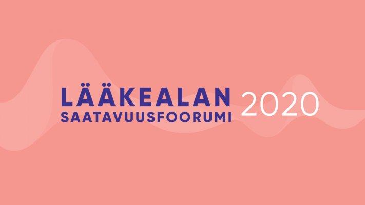 Lääkealan saatavuusfoorumi 2020