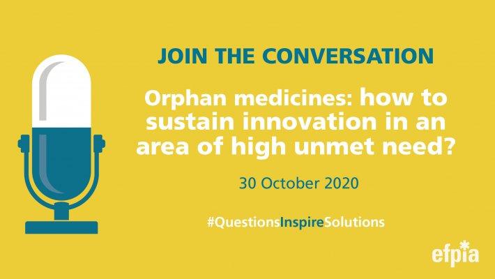 EFPIA:n tilaisuus harvinaislääkkeistä 30. lokakuuta